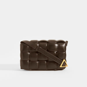 BOTTEGA VENETA Padded Cassette Crossbody Bag in Fondente