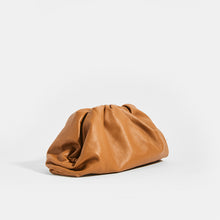 Load image into Gallery viewer, Side view of BOTTEGA VENETA Tan Large Pouch