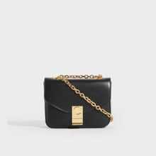 Load image into Gallery viewer, CELINE Small C Bag in Polished Black Calfskin