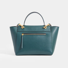 Load image into Gallery viewer, CELINE Mini Belt Bag in Green Grained Calfskin with rear zip