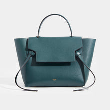 Load image into Gallery viewer, CELINE Mini Belt Bag in Green Grained Calfskin