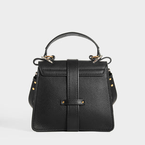 CHLOÉ Small Aby Day Shoulder Bag in Black Leather