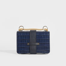 Load image into Gallery viewer, CHLOÉ Mini Aby Chain Crocodile-effect Shoulder Bag