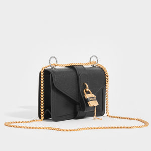 CHLOÉ Mini Aby Chain Leather Shoulder Bag
