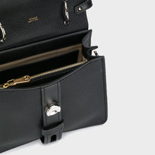 Load image into Gallery viewer, CHLOÉ Small Aby Day Shoulder Bag in Black Leather