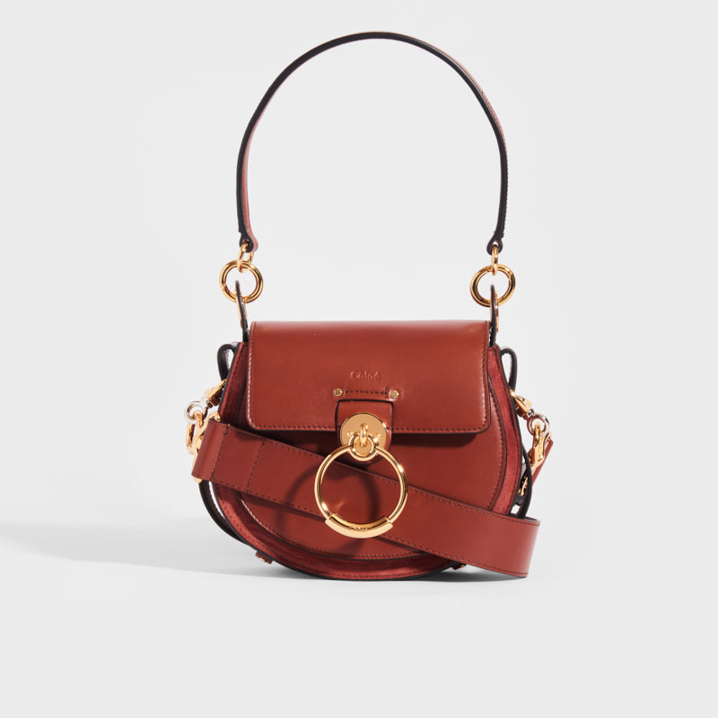 CHLOÉ Tess Small Leather Crossbody Bag