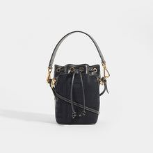 Load image into Gallery viewer, FENDI Mon Tresor Mini FF Logo Bucket Bag