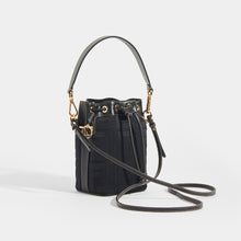 Load image into Gallery viewer, FENDI Mon Tresor Mini FF Logo Bucket Bag with Leather Strap
