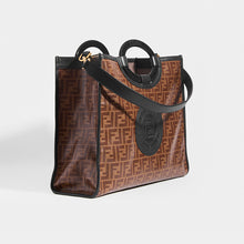 Load image into Gallery viewer, FENDI Runaway Shopper - SIDE VIEW