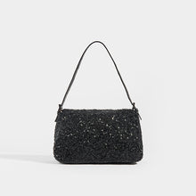 Load image into Gallery viewer, FENDI Vintage Beaded Mama Baguette in Black