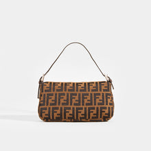 Load image into Gallery viewer, FENDI Vintage Zucca Print Baguette - Rear View