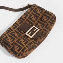 Load image into Gallery viewer, FENDI Vintage Zucca Print Baguette - Close Up