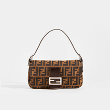 Load image into Gallery viewer, FENDI Vintage Zucca Print Baguette - Front View