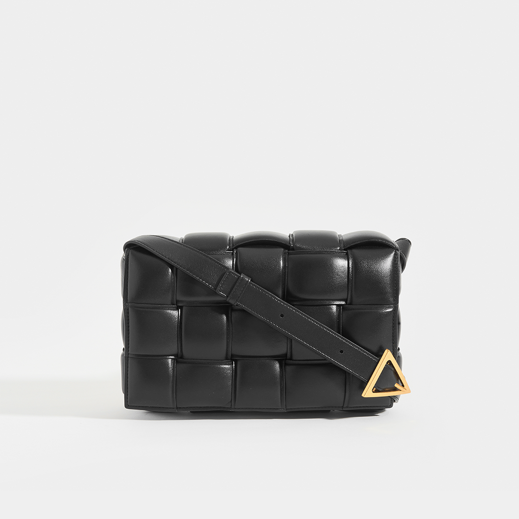 BOTTEGA VENETA Padded Cassette Crossbody Bag in Black (Nero)