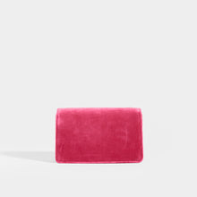 Load image into Gallery viewer, GUCCI Broadway Square Velvet Crystal Clutch in Pink