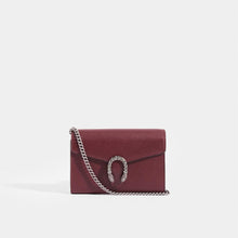 Load image into Gallery viewer, GUCCI Dionysus Small Wallet on Chain with Burgundy Leather