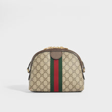 Load image into Gallery viewer, Rear of GUCCI Ophidia Coated Canvas Shoulder Bag