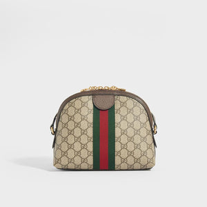 Rear of GUCCI Ophidia Coated Canvas Shoulder Bag
