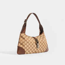 Load image into Gallery viewer, GUCCI Vintage Jackie Small Canvas Handbag in Brown
