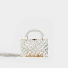Load image into Gallery viewer, L'AFSHAR Lucite Tilda Top Handle Clutch
