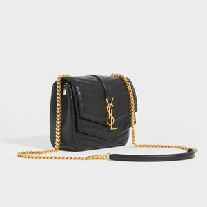 SAINT LAURENT Sulpice Small In Matelassé Lambskin