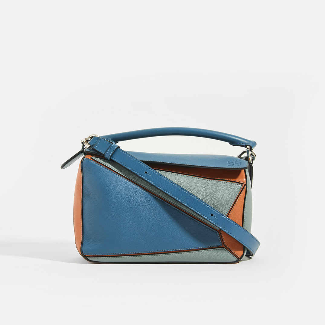 LOEWE Puzzle Small Grained Leather Bag