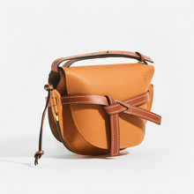 Load image into Gallery viewer, LOEWE Gate Small Crossbody in Tan Leather