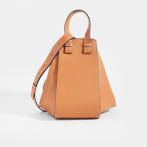 LOEWE Hammock Small Tote in Tan Leather
