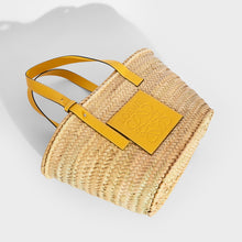 Load image into Gallery viewer, LOEWE Large Basket Bag in Yellow