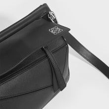 Load image into Gallery viewer, LOEWE Puzzle Small Smooth Leather Bag in Black