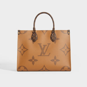 LOUIS VUITTON OnTheGo MM Tote Bag in Brown