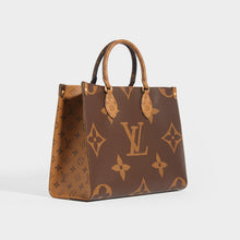 Load image into Gallery viewer, LOUIS VUITTON OnTheGo MM Tote Bag in Brown