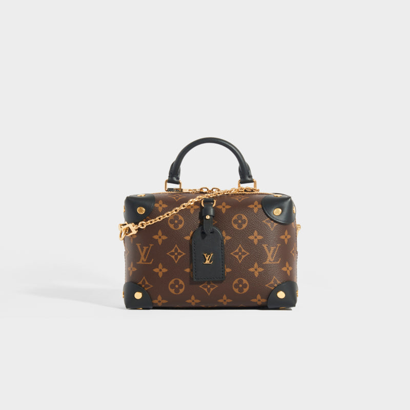 LOUIS VUITTON Petite Malle Souple Bag in Noir