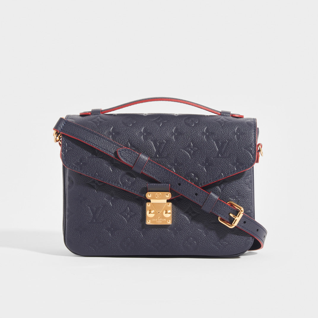 LOUIS VUITTON Pochette Métis Crossbody in Monogram Empreinte Leather