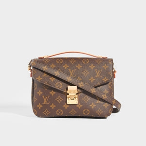 LOUIS VUITTON Pochette Metis Monogramme Canvas Crossbody