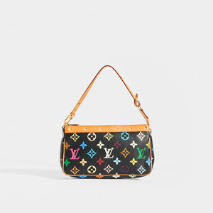 LOUIS VUITTON x Takashi Murakami Pochette in Black Multi