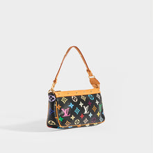 Load image into Gallery viewer, Side of LOUIS VUITTON x Takashi Murakami Pochette in Black Multi