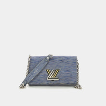 Load image into Gallery viewer, LOUIS VUITTON Twist Chain Wallet in blue and white