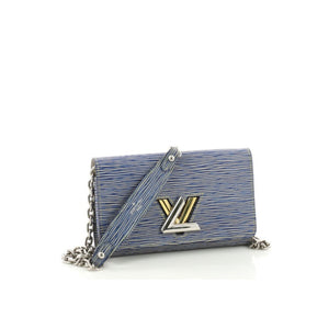 Side view LOUIS VUITTON Twist Chain Wallet