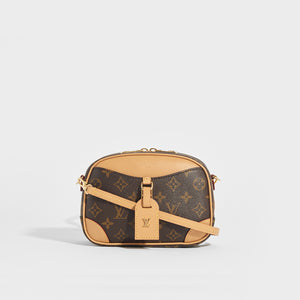 LOUIS VUITTON Deauville Mini Monogram Crossbody