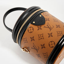 Load image into Gallery viewer, Top detail view of LOUIS VUITTON Monogram Reverse Canvas Cannes Bag