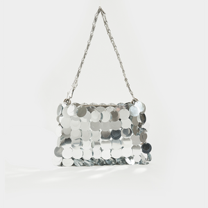 PACO RABANNE Sparkle 1969 Sequin Mini Cross Body Bag