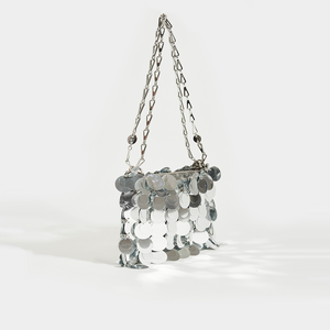 PACO RABANNE Sparkle 1969 Sequin Mini Crossbody Bag