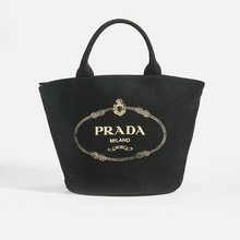 Load image into Gallery viewer, PRADA Gardener Tote in Black