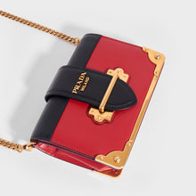 Load image into Gallery viewer, PRADA Cahier Leather Crossbody Bag