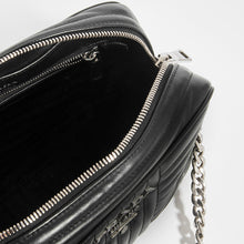 Load image into Gallery viewer, PRADA Diagramme Shoulder Bag in Black Leather