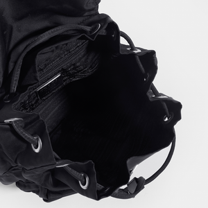 PRADA Vintage Small Backpack in Black Nylon
