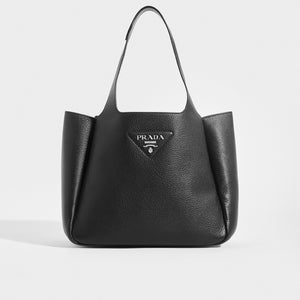 PRADA Dynamique Leather Tote