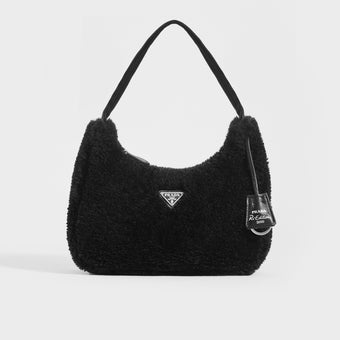 PRADA Hobo Teddy Re-Edition 2000 - Black