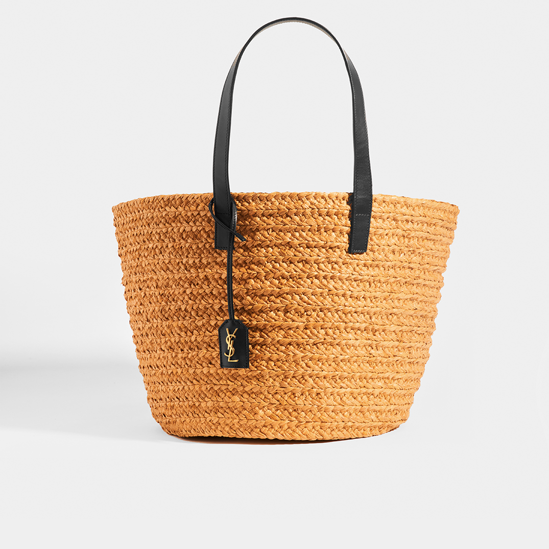 SAINT LAURENT Panier Medium Basket Bag